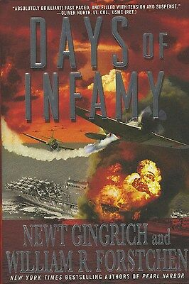 NEWT GINGRICH SIGNED AUTOGRAPHED BOOK DAYS OF INFAMY