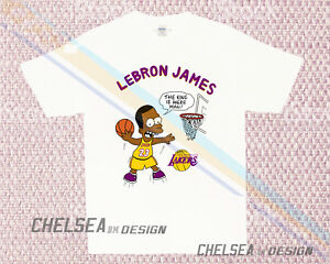 check out 5e25d 3d250 Details about Inspired By Lebron James Los Angeles T-shirt Merch Limited  Vintage Gildan 1rw
