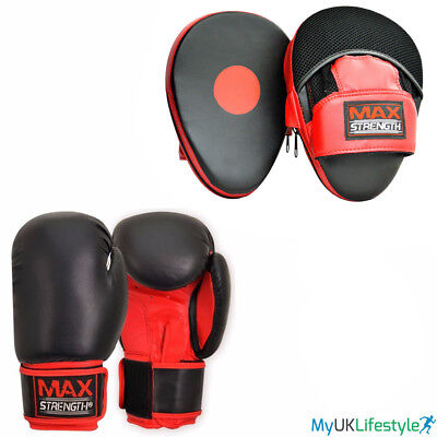 Ladies Curved Focus Pads Gel Hook and Jab MMA Training Kick Boxing Punching Pad