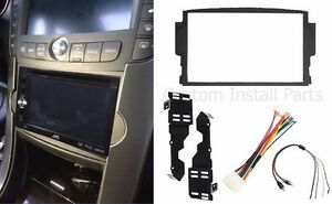 Double Din Dash Install Radio Stereo Kit W Wiring Harness Fits - 2004 acura tl dashboard replacement