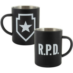 Resident-Evil-2-Metall-Tasse-RPD-Steel-NEU-amp-OVP