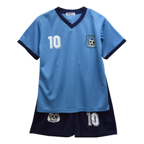 Football Summer Shorts Boys New Girls Top Vest Kit Set Size Age 2-3 Years Bnwt