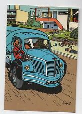 Carte Postale Trésors du Journal de Spirou n°39.  Couverture album Spirou 57