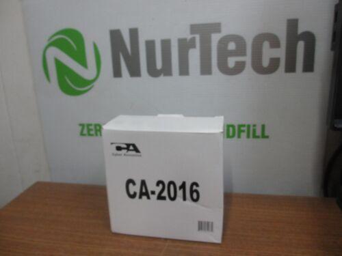 Lot of 10 CYBER ACOUSTICS CA-2016 2.0 USB POWERED COMPUTER DESKTOP PC SPEAKERS