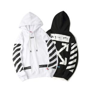 off White Supreme Hoodie Virgil Abloh Pyrex Vision Street Sweatshirt Wear Jumper