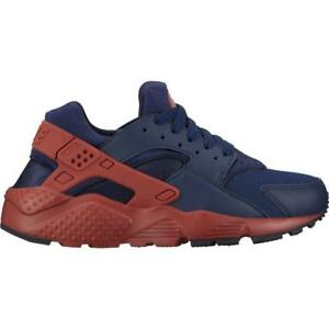 nike huarache red and blue