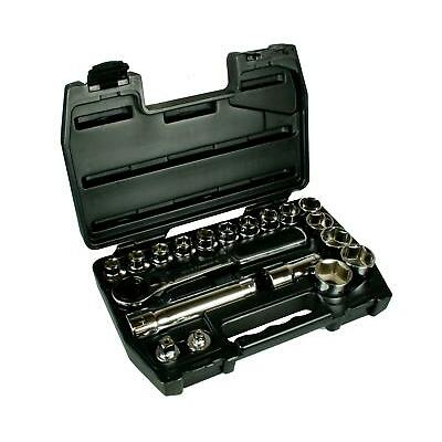 "Halfords Advanced 19 Piece Vortex Metric Steel Socket Set 1/2"" Drive Tool Kit"