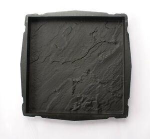 2x-Giessform-Betonform-45x45cm-Terrassenplatte-Schiefer-Schalungsform-F12