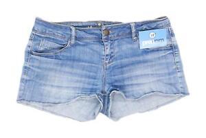 Womens-Promod-Blue-Denim-Shorts-Size-W33-L2