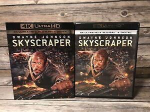 Rascacielos-4K-Ultra-Hd-Blu-Ray-2018-Dwayne-Johnson-Neve-Cambell-pelicula
