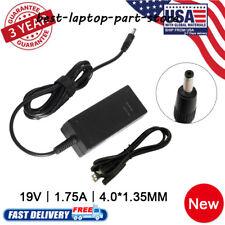 33W OEM AC Adapter Charger 19V 1.75A ASUS Vivobook S200E X201E X202E US A439