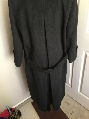Dark New Beaver Wool Blend Calvin Long Coat Gray Fur 6 Stunning Kline xnYBYwT