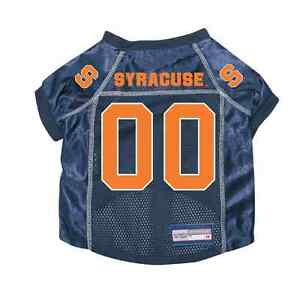 NEW-SYRACUSE-ORANGEMEN-PET-DOG-PREMIUM-JERSEY-w-NAME-TAG-ALL-SIZES-LICENSED