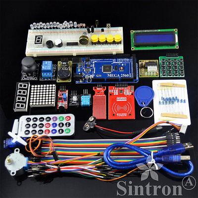 [Sintron] MEGA 2560 RFID Master Kit + Motor Servo LCD Module for Arduino Learner