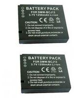 Two 2 Batteries Bpdc10 Bp-dc10-e Bp-dc10-u For Leica D-lux 5 D-lux 5e
