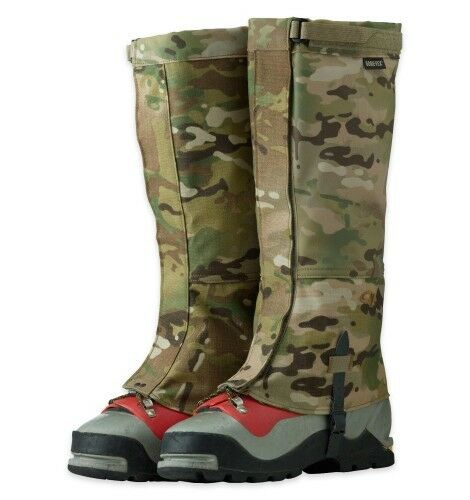 Outdoor Research Multicam Leg Gaiters Gore-tex USA Made