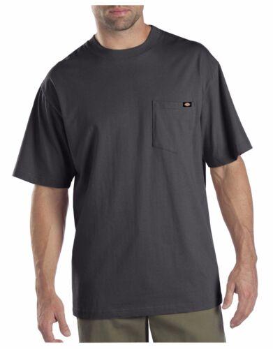 Dickies Mens Charcoal Short Sleeve 2 Pack Pocket T-Shirts 1144624