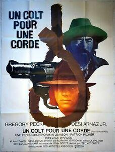 Plakat-Kino-Western-Un-COLT-Fuer-Une-Cord-Gregory-Peck-120-X-160-CM
