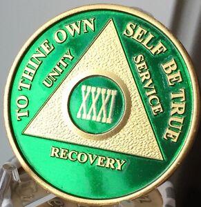 31 year aa coin