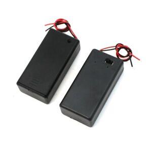 Par-9V-Sostenedor-de-bateria-caja-de-almacenamiento-ON-OFF-interruptor-co-Y2S8