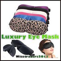 Travel Rest Shade Sleeping 3D Soft Padded Eye Sleep Mask Blinder Blindfold Soft