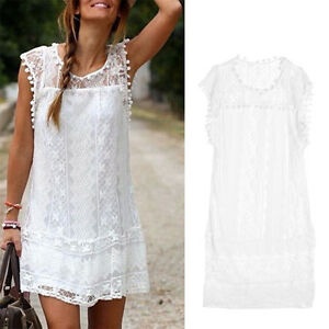 Sexy-Women-Summer-Sleeveless-Casual-Evening-Party-Cocktail-Lace-Short-Mini-Dress