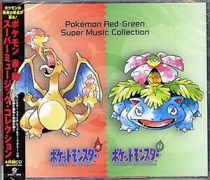 OST-POKEMON-AKA-MIDORI-RED-GREEN-SUPER-MUSIC-JAPAN-4-CD-F56