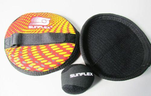 2 Wurfscheiben/1 Ball Sportspiele FunspP74 Sunflex 74605 Neopren Wurfspiel Set