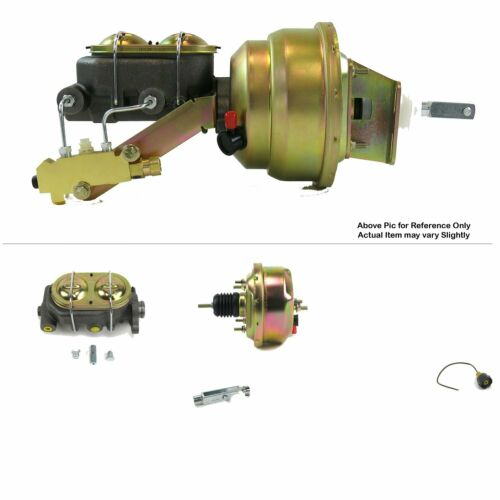 "Details about  /1968-1974 Chevy Nova FW Mount Power 7/"" Single Brake Booster Kit Drum Drum"