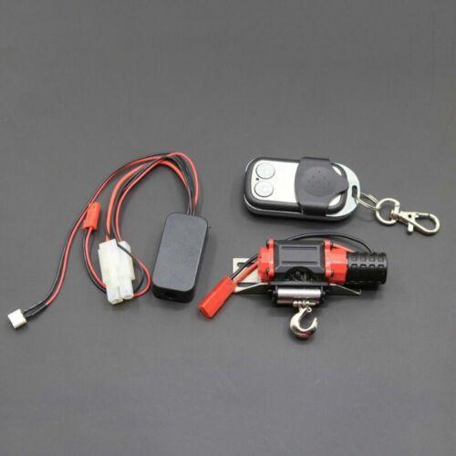 Metal Winch Remote Controller Set For 1//10SCX10 D90 TRX4 KM2 RC Climbing Crawler