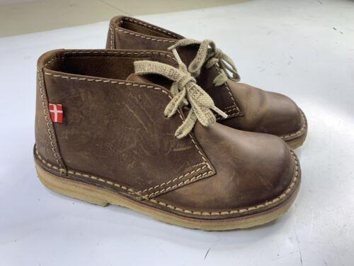 Duckfeet Sjaelland Desert Brown Leather Chukka Boo