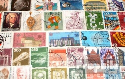 FRD (FR.Germany) 200 different stamps