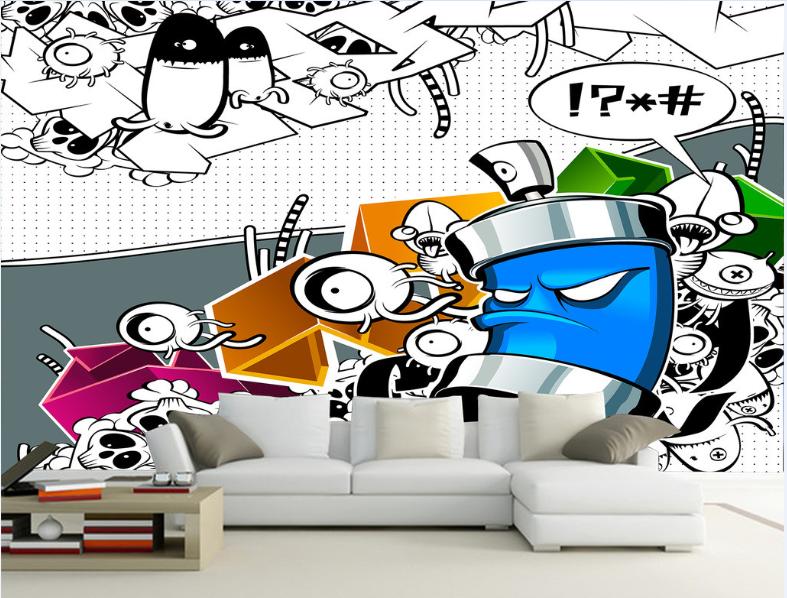 3D Cartoon Aliens 74 Wall Paper Murals Wall Print Wall Wallpaper Mural AU Kyra