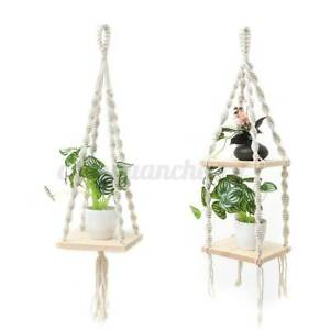 Wooden-Shelf-Floating-Wall-Shelves-Mounted-Storage-Plant-Rack-Display-Hom-U