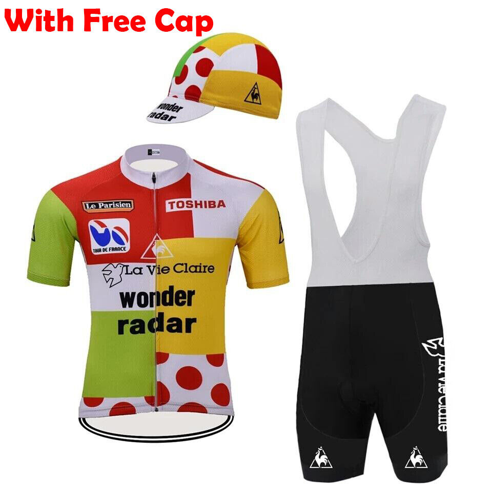 WONDER RADAR LA VIE CLAIRE RETRO Cycling Jersey