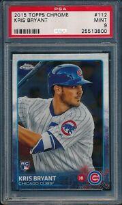 2015-Topps-Chrome-Baseball-Kris-Bryant-R-112-PSA-9-CUBS-MINT