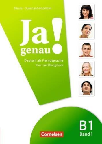 1 von 1 - Ja genau! / B1: Band 1 - Kurs- und Übungsbuch mit Lösungen und Audio-CD von Cla…