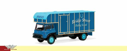 Bridge Street Riding School Neu Hornby Skale Autos 1:76 R7014 Horse Box