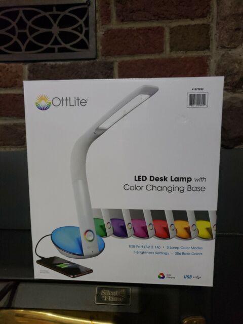 OttLite J8600C-EURP LED Cone Clip Lamp