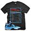 Black-SUCCESS-FACTS-T-Shirt-for-Jordan-4-IV-Cactus-Jack-University-Blue-UNC thumbnail 5