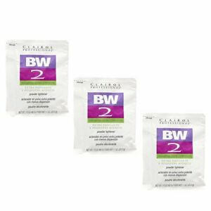 Clairol BW2 Extra Strength Powder Lightener 1 oz (3 Pack)