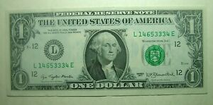 1977 USA $1 Dollars San Francisco L14653334E