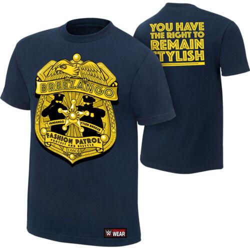 "Official WWE Breezango /""Fashion Patrol/"" Authentic T-Shirt"
