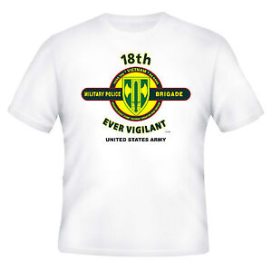 18TH-MILITARY-POLICE-BRIGADE-034-EVER-VIGILANT-034-BATTLE-amp-CAMPAIGN-SHIRT