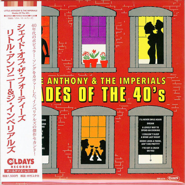 LITTLE ANTHONY & THE IMPERIALS-SHADES OF...-JAPAN MINI LP CD BONUS TRACK C94