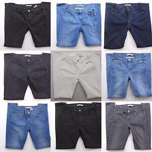 New-Levi-039-s-Womens-710-Super-Skinny-Mid-Rise-Stretch-Denim-Jeans-All-Sizes-25-34