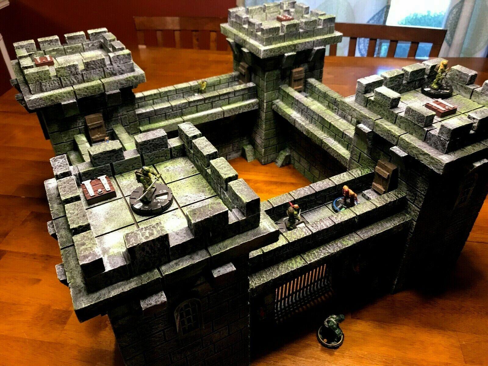 Gran Castillo set Heroclix terreno Dungeons & Dragons Marvel mapa Heroscape Paisaje