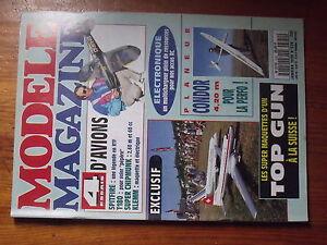$$4 Revue modele magazine N°520 Plan encarte Black & Blanc  Spitfire  T180