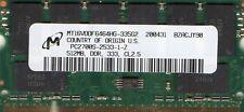 NEW 512mb HP/Compaq Presario 1500/2100/2200/2500/2800 Series DDR Laptop Memory