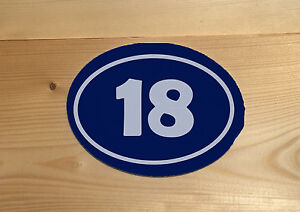 House-Number-Any-Name-Oval-Vintage-Retro-ENAMEL-METAL-TIN-SIGN-WALL-PLAQUE